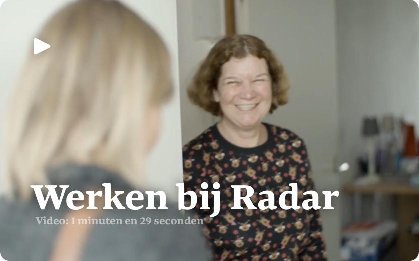 Werken bij Radar!